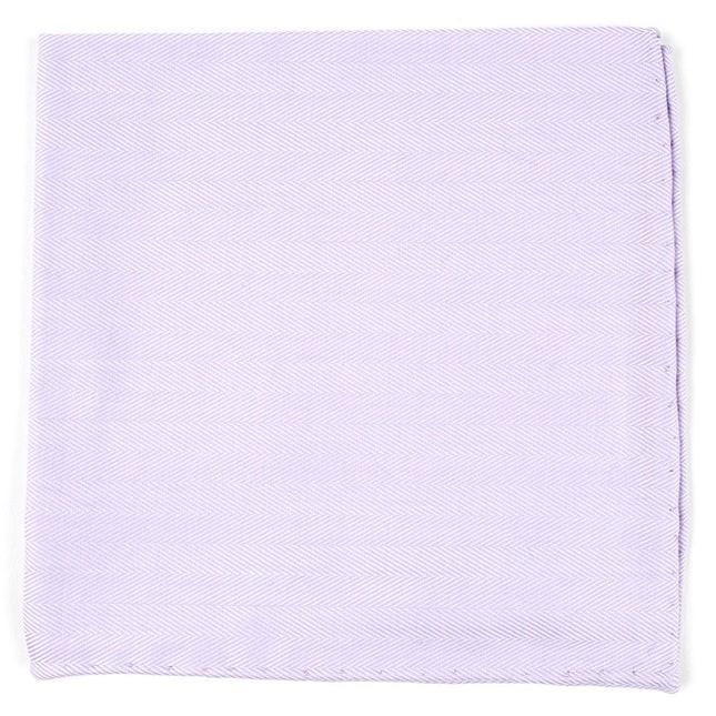 Solid Flex Lavender Pocket Square