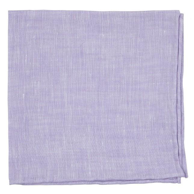 South End Solid Lavender Pocket Square