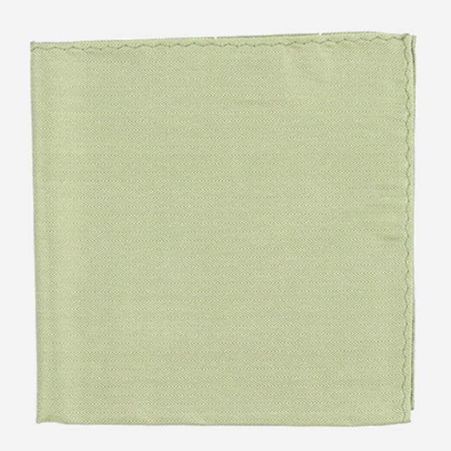 Mumu Weddings - Desert Solid Moss Green Pocket Square
