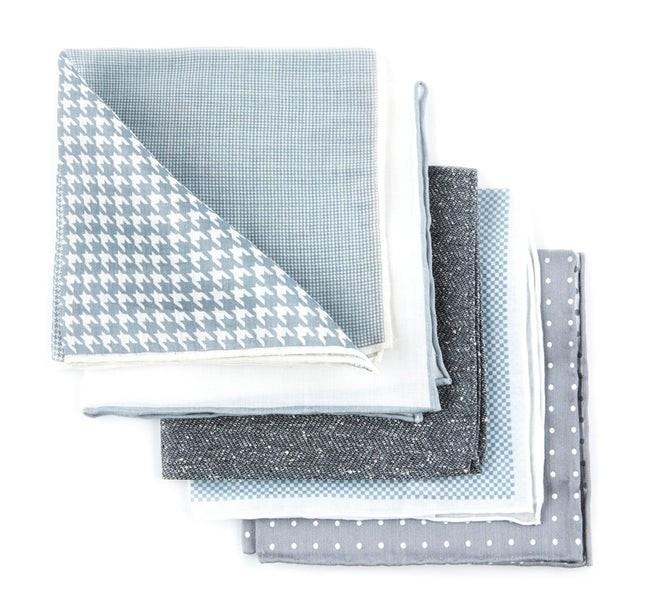 Basic Grey Pack Pocket Square