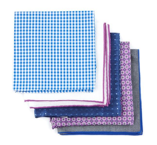 Trendy Purple Pack Pocket Square