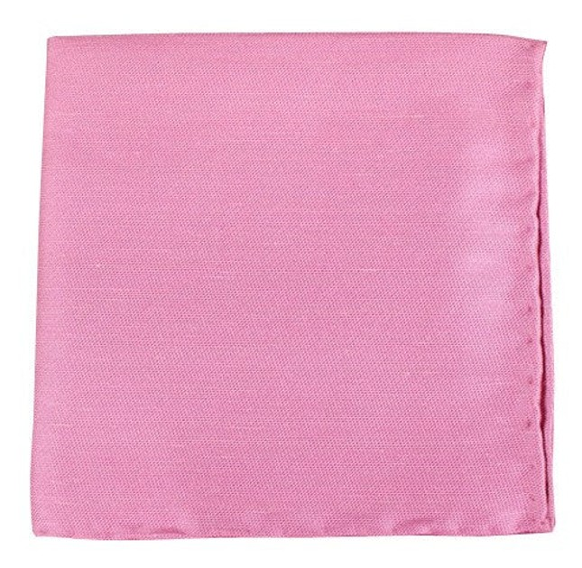 Sand Wash Solid Pink Pocket Square