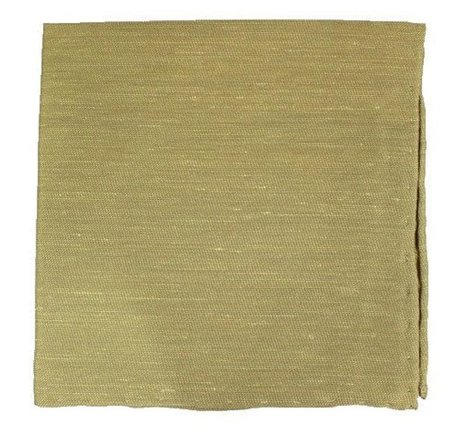 Sand Wash Solid Sun Gold Pocket Square