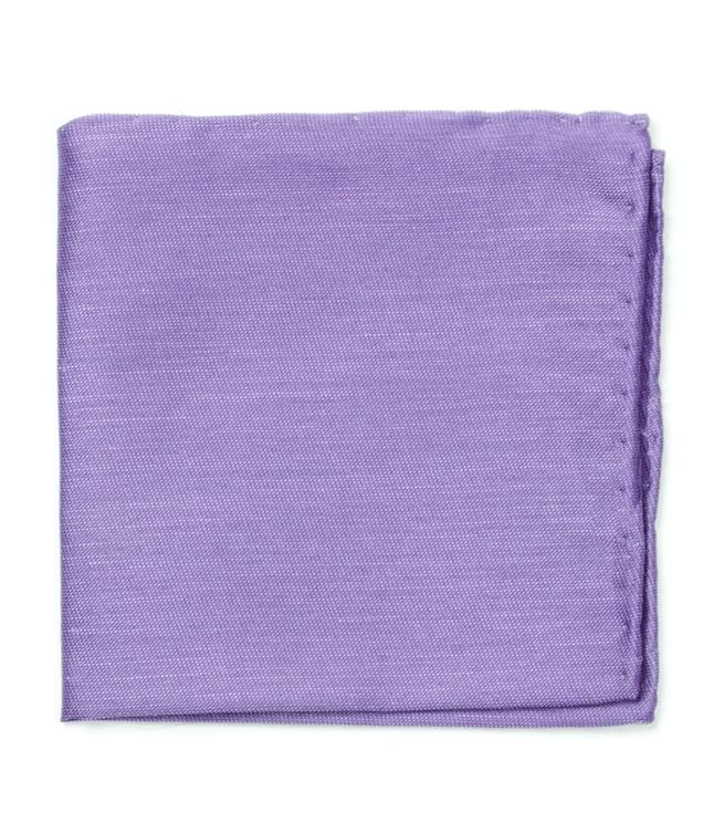 Sand Wash Solid Lavender Pocket Square