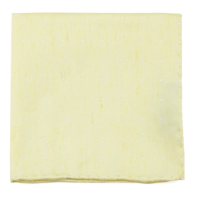 Bulletin Dot Butter Pocket Square