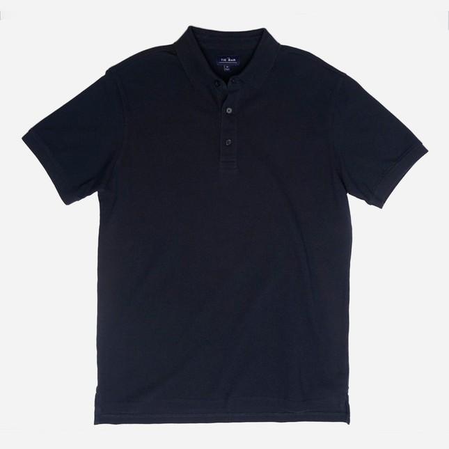 Pique Navy Polo