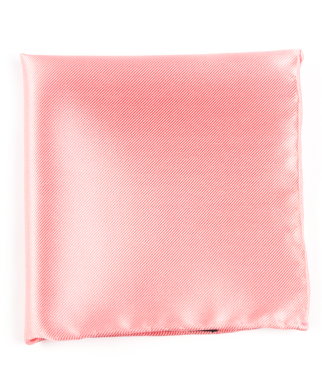 Solid Twill Spring Pink Pocket Square