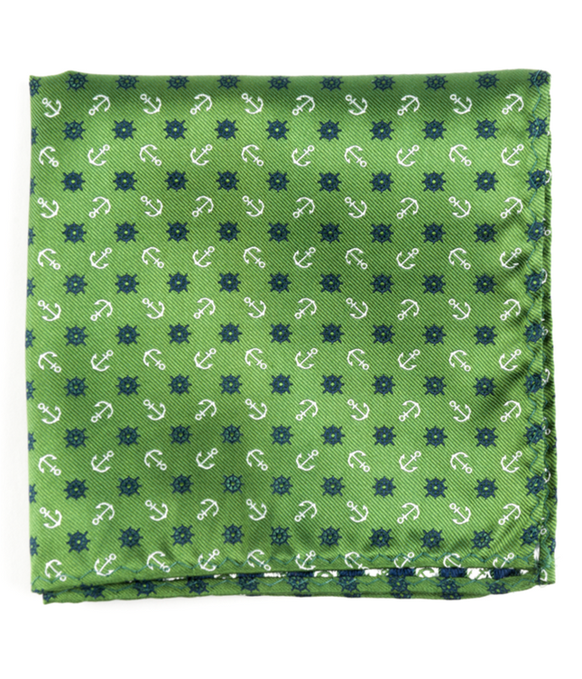 Offshore Treetop Pocket Square