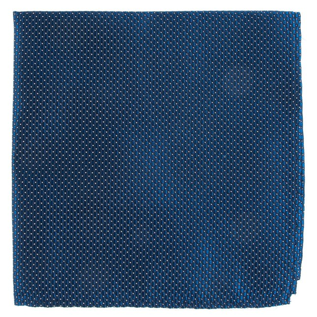 Pinpoint Navy Pocket Square
