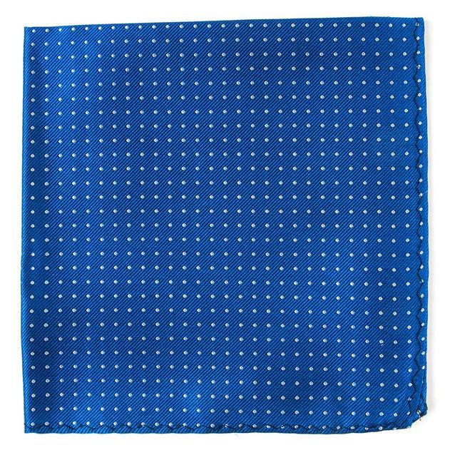 Mini Dots Royal Blue Pocket Square