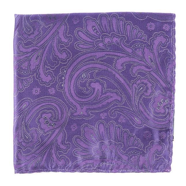 Paisley Phase Lavender Pocket Square