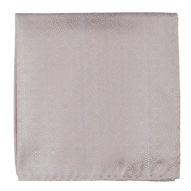 Wedded Lace Soft Pink Pocket Square