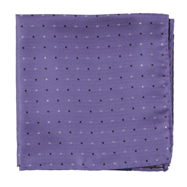 Jpl Dots Lavender Pocket Square