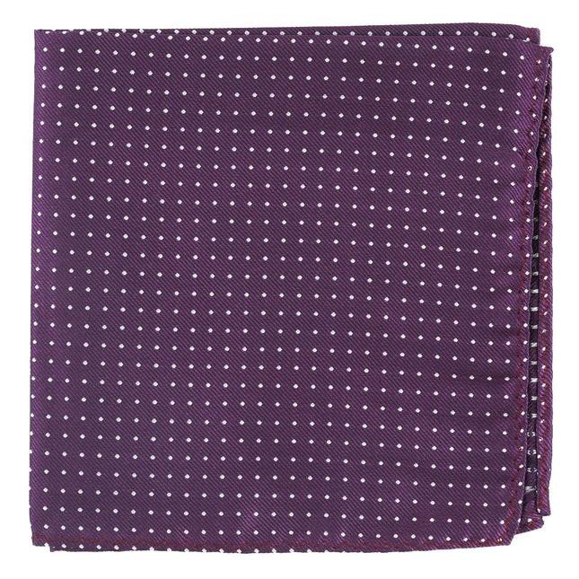 Mini Dots Azalea Pocket Square