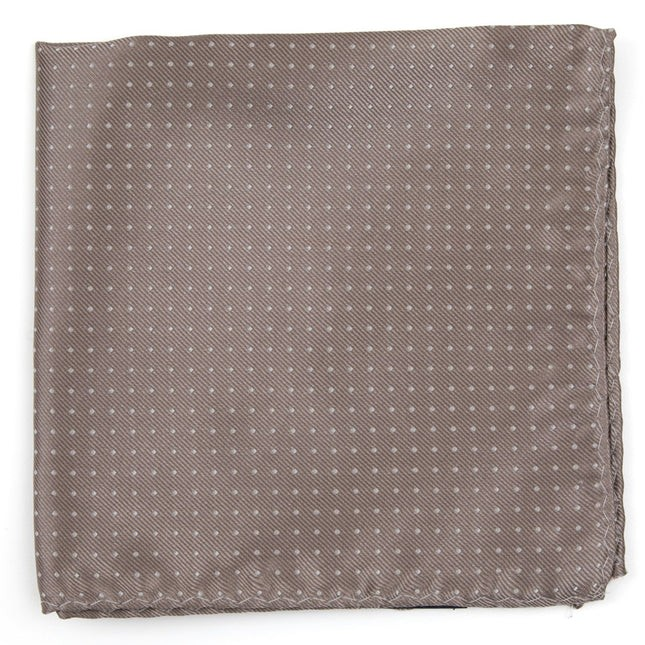 Mini Dots Sandstone Pocket Square