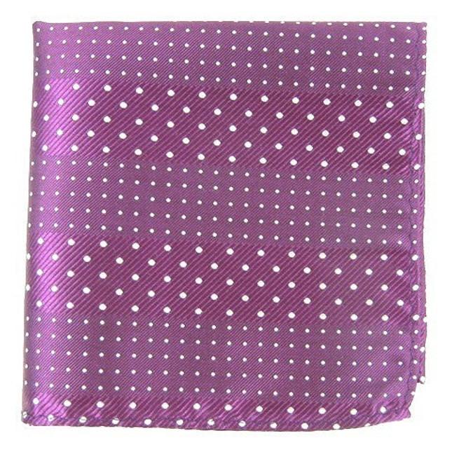 Pulsating Dots Azalea Pocket Square
