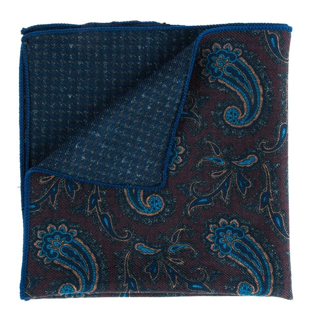 Quest Tooth Brown Pocket Square