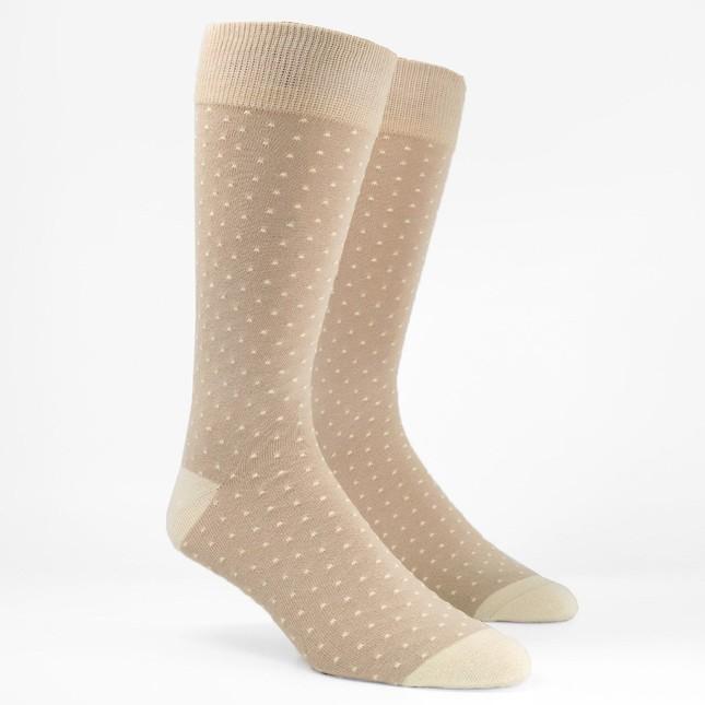 Mumu Weddings - Seaside Dot Show Me The Ring Dress Socks
