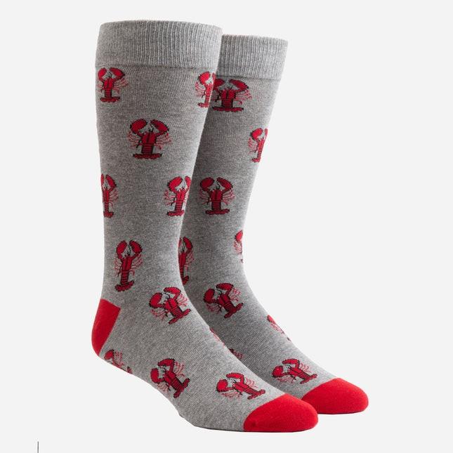 Boston Lobster Charcoal Dress Socks
