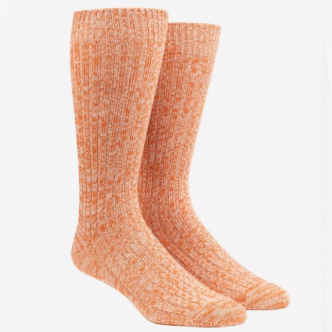 Camp Tangerine Dress Socks