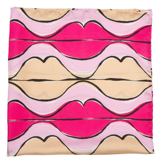 Read My Lips By Jacob Tobia Pink Scarf