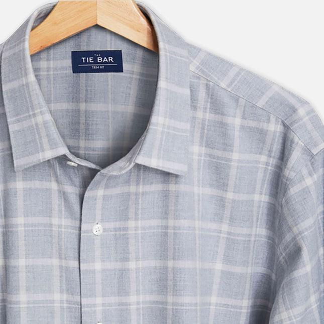 Multicolored Check Grey Casual Shirt