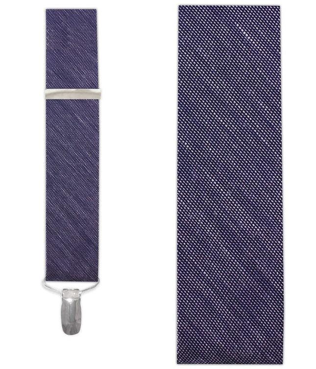 Sand Wash Solid Deep Purple Suspender