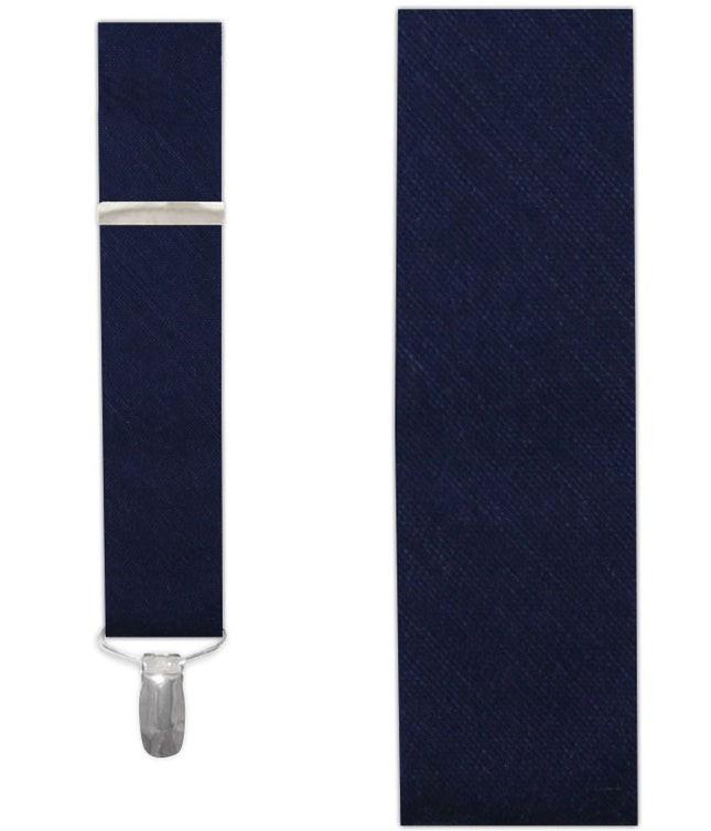 Sand Wash Solid Navy Suspender