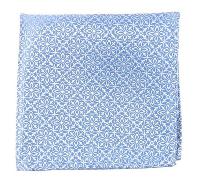 Opulent Light Blue Pocket Square