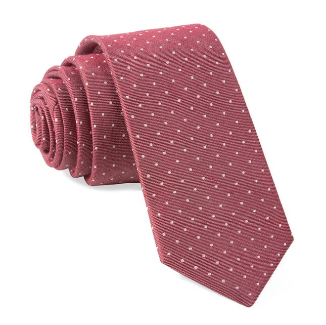 Bhldn Destination Dots Burgundy Tie