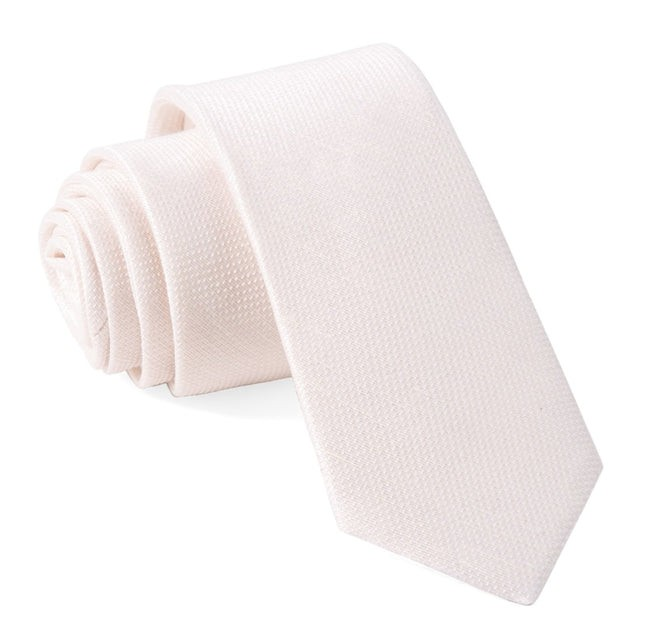 Bhldn Jet Set Solid Champagne Tie