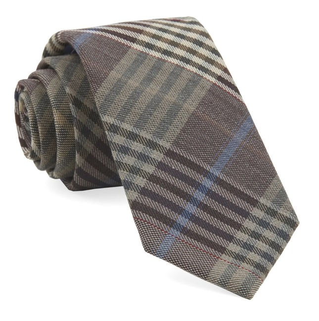 Dundee Plaid Camel Tie