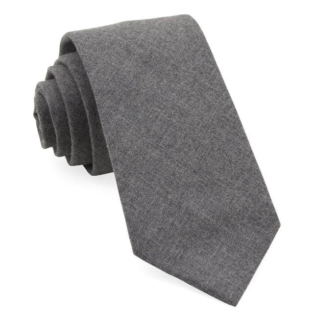 Foundry Solid Grey Tie
