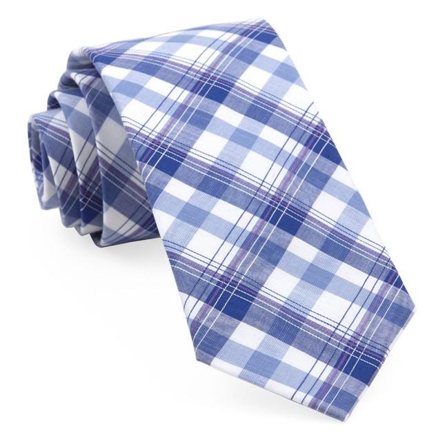 Harborside Plaid Navy Tie