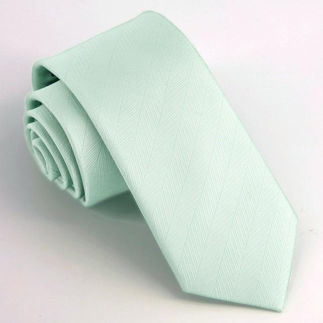 Herringbone Vow Dusty Sage Tie