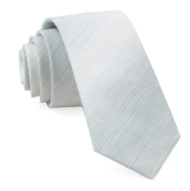 Locale Stripe Spearmint Tie