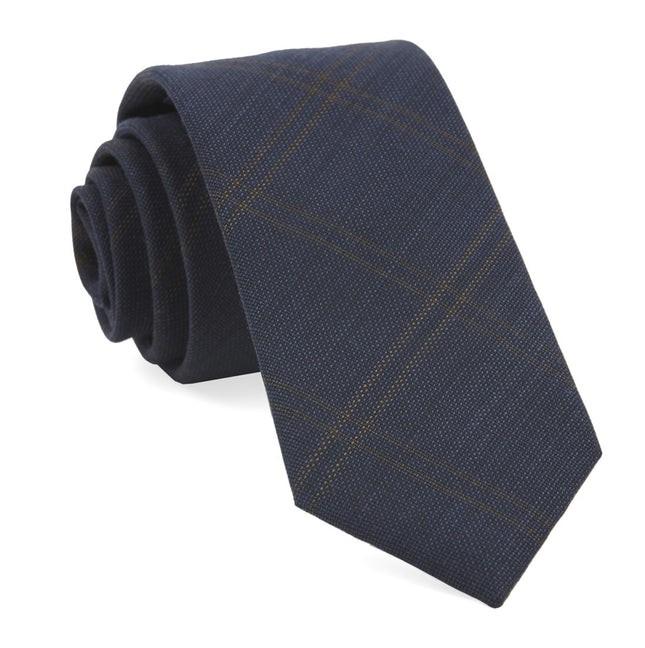 Redding Plaid Navy Tie