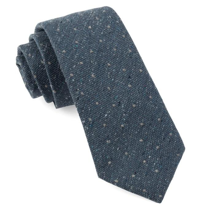 Redwood Dot Slate Blue Tie