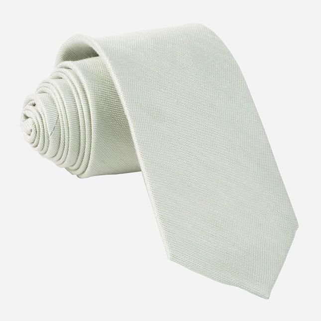 Sand Wash Solid Sage Green Tie