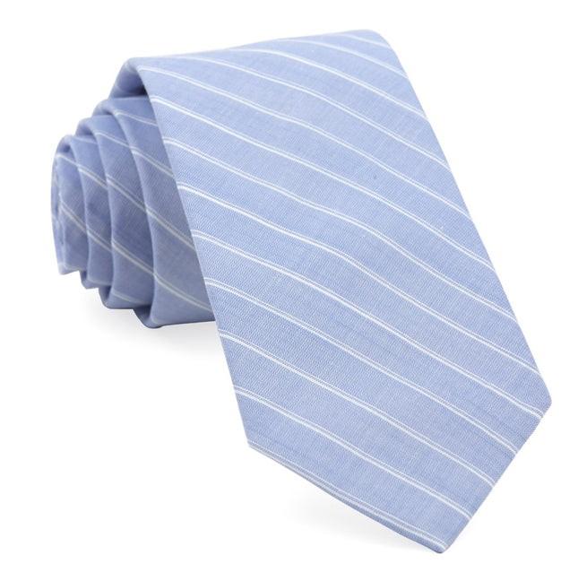 Seamore Stripe Washed Navy Tie