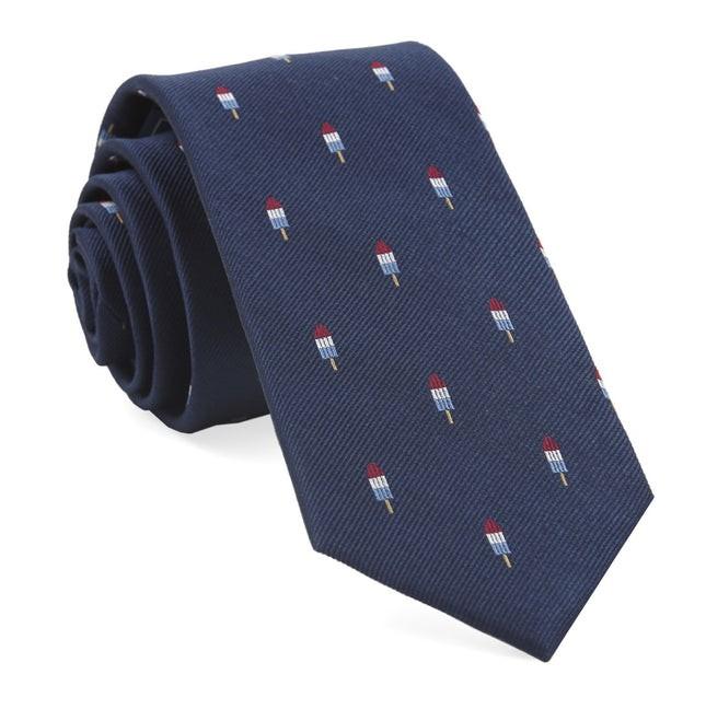 Summer Popsicles Navy Tie