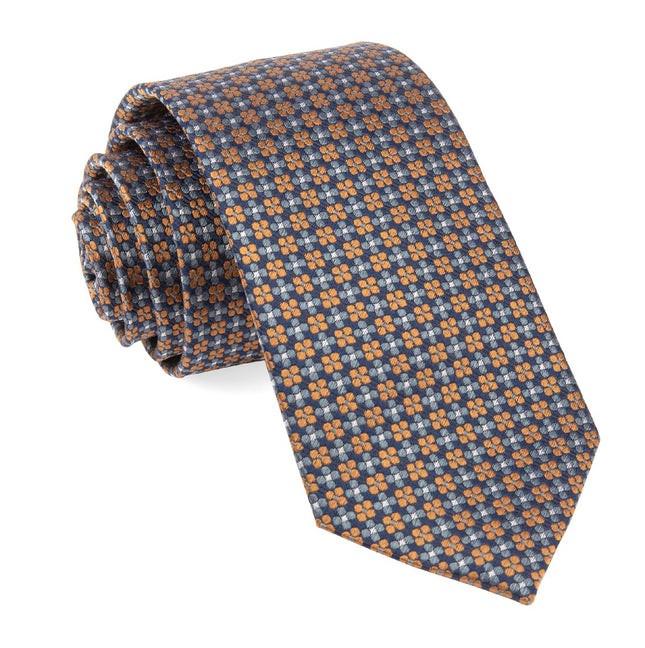 Sartorial Geo Navy Tie