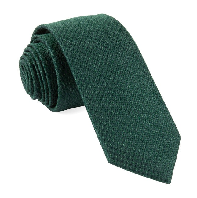 Bhldn Dotted Spin Hunter Green Tie