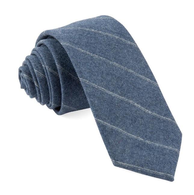 Barberis Wool Giallo Light Blue Tie