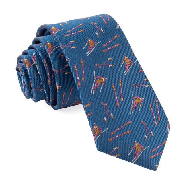Ski Hill Light Blue Tie