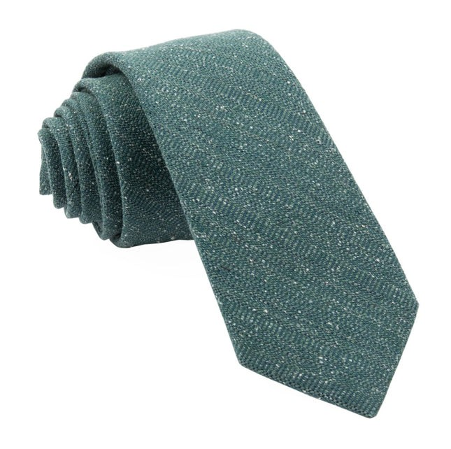 Bear Lake Solid Hunter Green Tie