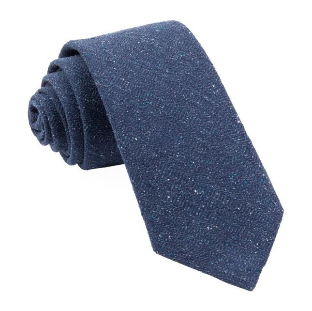 Bear Lake Solid Navy Tie