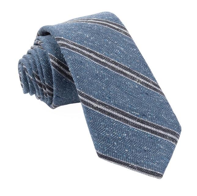 Drift Stripe Blue Tie