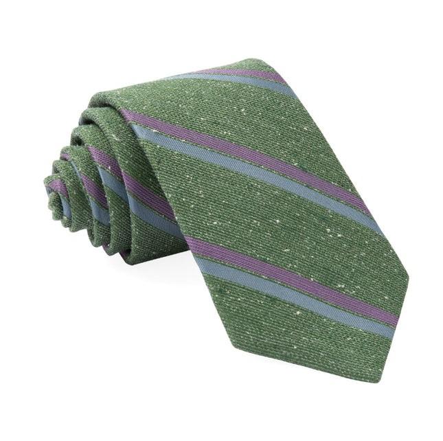 Ridgemont Stripe Green Tie