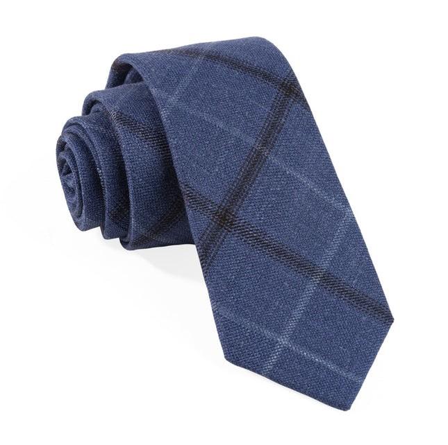 Barberis Wool Sera Blue Tie